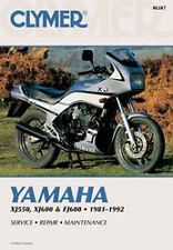 CLYMER REPAIR MANUAL Fits: Yamaha FJ600,XJ550 Maxim,XJ550R Seca
