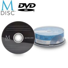 15 Pack Millenniata M-Disc DVD 4.7GB 4X HD 1000 Year Permanent Recordable Disc