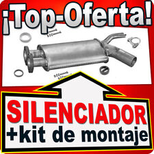 Silenciador Intermedio BMW 5-ER E34 (520) 2.0 150HP 1990-1997 Centro Escape MNU