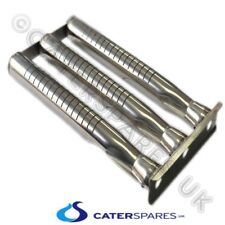 CHINESE WOK COOKER 3 BURNER STAINLESS STEEL TUBE BURNERS FOR NATURAL GAS OR LPG