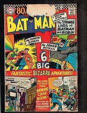 """Batman #182~""""The Villain of 100 Elements""""/ 80 Page Giant~ 1966 (2.5) WH"""