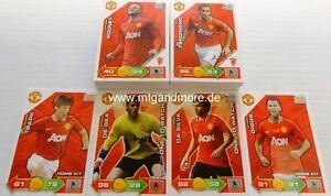Adrenalyn XL Manchester United 11/12 - ALLE 80 BASIS-Karten