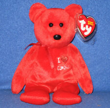 TY I LOVE CANADA the BEAR  BEANIE BABY - MINT with MINT TAG