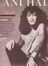 LANI HALL 1981 Promo Poster Ad from BLUSH mint cond!