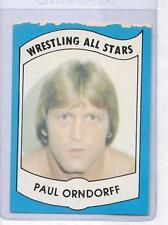 Paul Orndorff Wrestling All Stars Card Tampa Florida FL