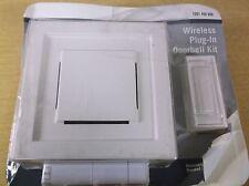 Hampton Bay 1001 406 898 Wireless Plug In Doorbell Kit, white, No hardware