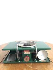 WORKING ~ Vintage Coleman Picnic Propane Stove Camping Single Burner