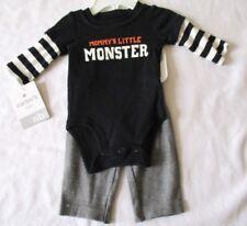 Carters Carter's Mommy's Little Monster 2 Pc Set Bodysuit Pants Size Newborn