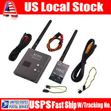 600mW 5.8G Wireless A/V Transmitter TS832 Receiver RC832 Set For RC Helicopter