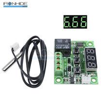 Green DC12V -50-110°C W1209 Digital Thermostat Temperature Control Switch Sensor