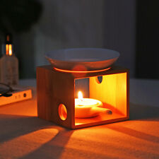 Candle Aromatherapy Furnace Wood Incense Burner Sleeping Home Oil Candles Holder