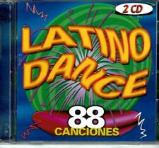 Latino Dance 88 Canciones (2 CDS SET)    BRAND  NEW SEALED CD