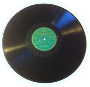 78T LP 78rpm TINO ROSSI La Madona de Sorrente & Sérénade Céleste COLUMBIA