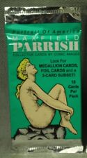 lot 2 10 packs ( 20) Portrait of America Maxfield Parrish collector cards