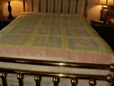 Lancaster County PA Queen size Amish made Quilt SC