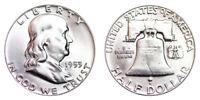 1953-P Franklin Half Dollar Brilliant Uncirculated- BU