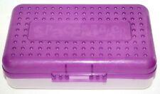 Space Maker Clear Plastic Pencil Box Case School Home Office Newell Eldon