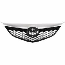 Grille For 2003-2005 Mazda 6 Black Plastic