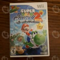 Super Mario Galaxy 2  ( Nintendo Wii ) Authentic/Cleaned/Tested