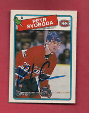 1990  MONTREAL CANADIENS PETR SVOBODA AUTOGRAPH CARD
