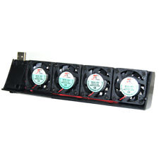 USB 4 Fan Quiet Cooling Cooler for SONY PS3 Playstation 3 40GB/80GB/120GB/250GB