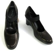 ARCHE - Chaussures compensées cuir marron foncé 6EUR 8US 40 - EXCELLENT ETAT