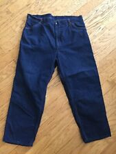 1940's Penney'S Big Mac Vintage Dungarees ! One Wash! 38� X 29!