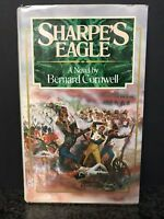 SHARPE'S EAGLE Bernard Cornwell Hardcover DC/DJ 1981 *FIRST in SHARPE SERIES*