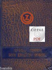 *CD Book Special Troops 102d Infantry Division King Tiger V1 V2 Ft. Dix 771st TD