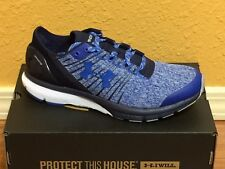 New in box Under Armour UA Charged Bandit 2 Men's Running Shoes-blue / black-907