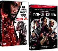 Lot  2 DVD  //  L'HOMME AUX POINGS DE FER 1 & 2  //  NEUFS cellophanés