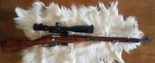 Scope Mount System fits on Mosin Nagant 91/30, M44 with Original Wood Stock