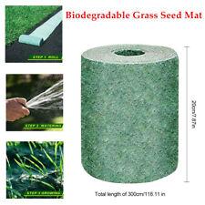 Biodegradable Grass Mat Fertilizer Garden Picnic 20*300cm grow evenly