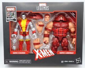 Hasbro Marvel 80th Anniversary Marvel Legends X-Men Colossus & Juggernaut 2 Pack