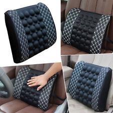 Car Massage Cushion Lumbar Waist Support Auto SUV Seat Back Cushion Electric 12V
