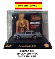 ASTON MARTIN DB5 1:64 GOLDFINGER 007 JAMES BOND SHELL DIE CAST MAQUETA MODELOS