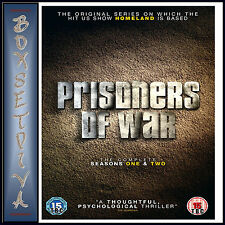 PRISONERS OF WAR - COMPLETE SEASONS 1 &  2 **BRAND NEW DVD BOXSET **