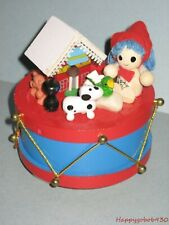 Wooden Christmas Music Box Plays