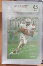 1999 Metal #214 David Boston BGS 8.5 NM-MT+ Arizona Cardinals Rookie