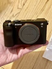 Sony Alpha a7C 24.2MP Mirrorless Camera - Black (Body Only)