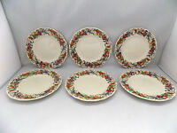 ROYAL DOULTON TINTERN SIDE PLATES x 6