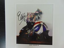 """Formula One Champ"" Eddie Cheever Jr Hand Signed 8X10 Color Photo CAS COA"