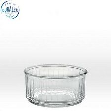 Duralex Ramequin Ramekin 3 3/8'' 8.5cm Clear Set of 4  Dinning Kitchen Home New