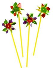 "12 Plastic Pinwheels - 16"""