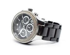 DKNY Damen-Armbanduhr Keramik Schwarz NY4983 Gebraucht