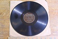 """78 1940s Texas Jim Lewis """"Wine, Women and Song"""" """"Rock and Rye Polka"""" DECCA 46021"""