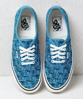 Vans Mens 9 Womens 10.5 Authentic 44 DX Anaheim Factory OG Brig Blue Sneakers