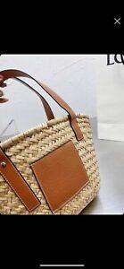 loewe basket bag brown