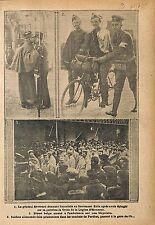 Général Emile Révérard Légion d'Honneur Lieutenant Kula  WWI 1915 ILLUSTRATION