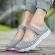 Women Flat Shoes Spring Summer Soft Breathable Sneakers Casual Ladies Mesh Wears